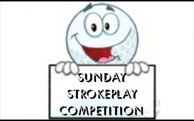 SUNDAY STROKEPLAY played on 24 September