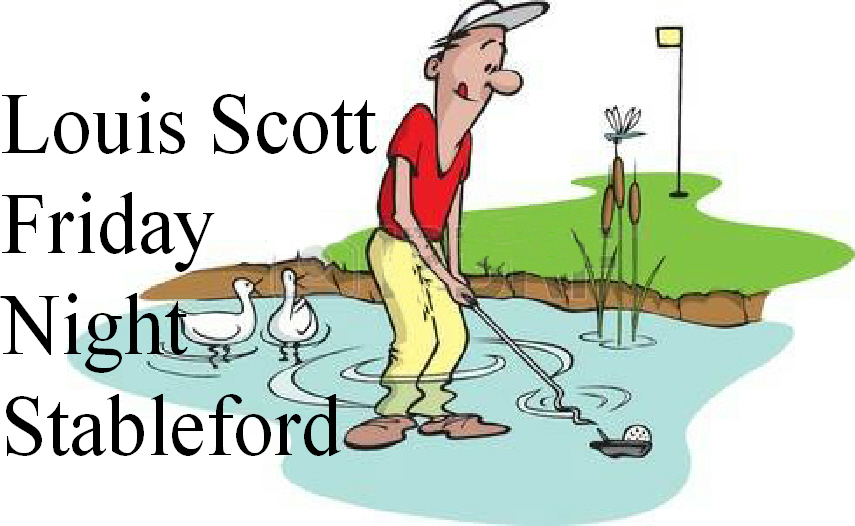 LOUIS SCOTT STABLEFORD BACK 9  MAY 25TH