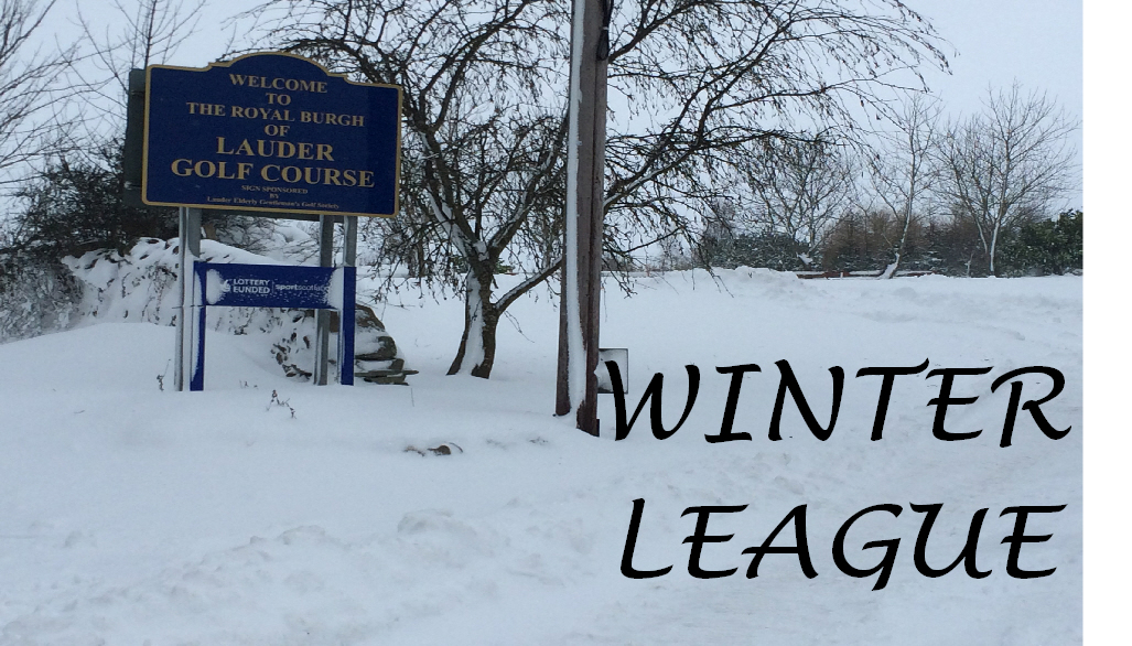 WINTER LEAGUE 13TH JANUARY