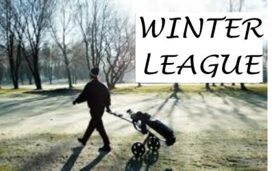 WINTER LEAGUE 9TH DECEMBER